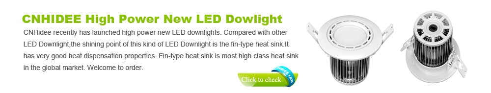 CNHidee High Power New LED Downlight