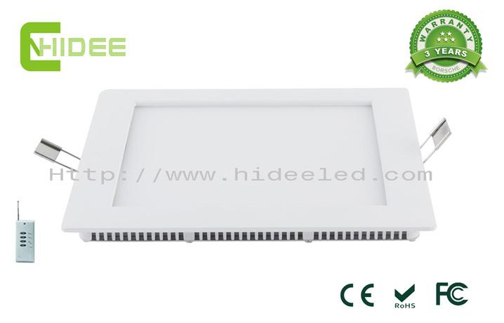 12W PWM Dimable LED Panel Light 210x210mm
