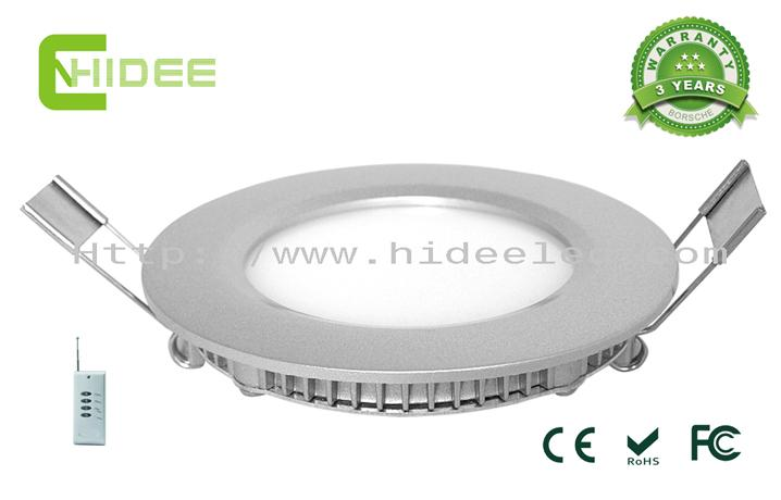 6W PWM Dimmable LED Panel Light
