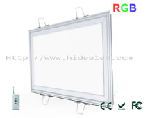 14W RGB Panel Light 310x610mm