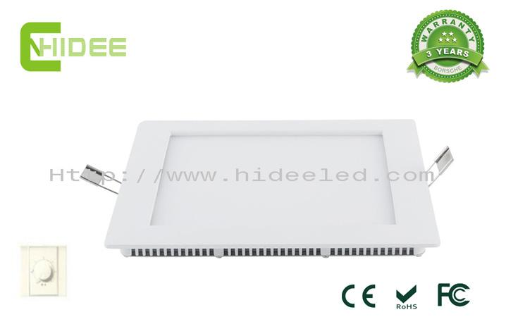 12W 210X210mm LED Triac-Dimmable Panel