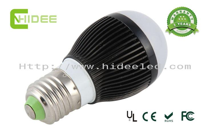 3W High Power LED Bulb UL
