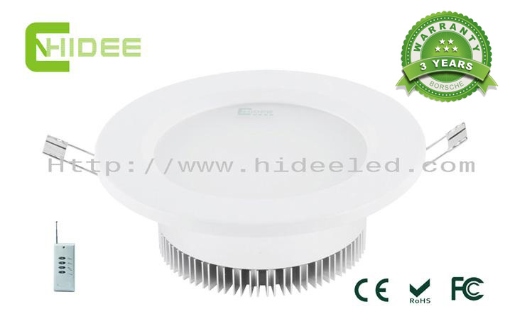 12W LED PWM Dimmable Downlight