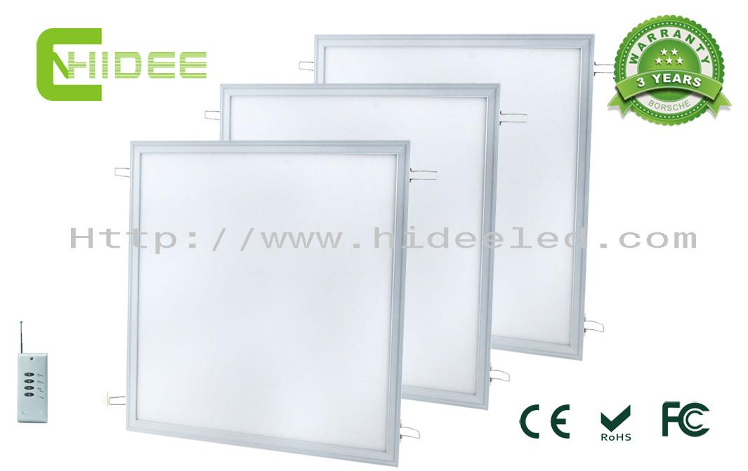 72W LED PWM Dimmable Panel Light 610x610mm