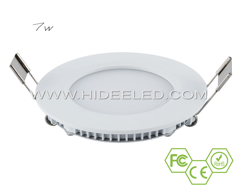 7W LED Round Panel Light