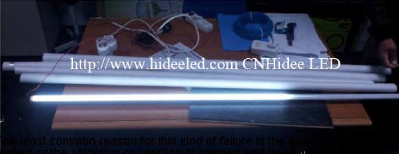 Common defects of LED tube