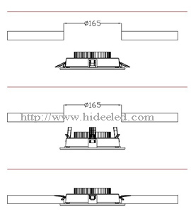 Recessed LED Downlight Application