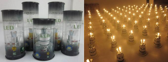 Popular Model 4W LED Candle Light