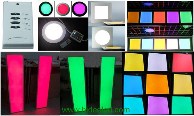 56W 300X1200 LED RGB Panel Light Application