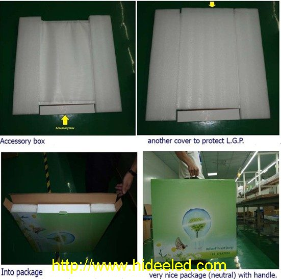 600x600mm LED Panel Light package